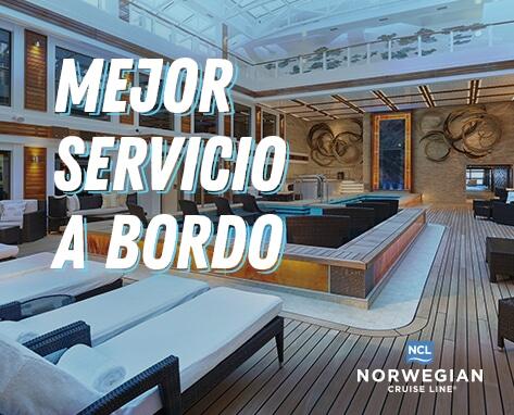NCL SERVICIO A BORDO